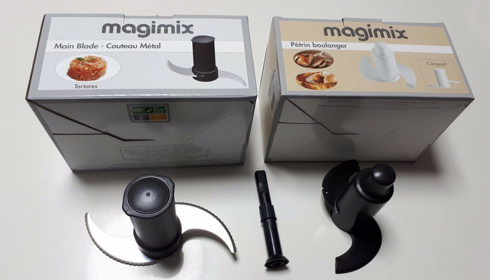 Primary image for Magimix Blade, Spindle & Dough Blade 5000 5100 5200 5200xl ref 17710
