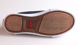NEW Levi's Denim Blue Girls Stan G Canvas Sneakers Gym Shoes New in Box 1091100 image 8