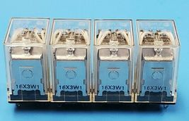 LOT OF 4 NEW OMRON LY4 110/120 VAC RELAYS image 3