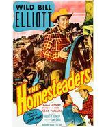 The Homesteaders - Wild Bill Elliot - 1953 - Movie Poster Magnet - $11.99