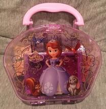 Disney Princess Aurora My First Stamp set in Nice Plastic Case Inkpad To... - $15.83