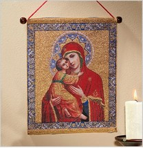 Our Lady of Vladimir Wall Hanging - $48.95