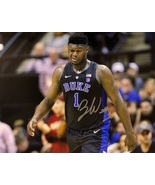 ZION WILLIAMSON AUTOGRAPHED Hand SIGNED DUKE BLUE DEVILS 11x14 PHOTO w/COA  - £142.37 GBP