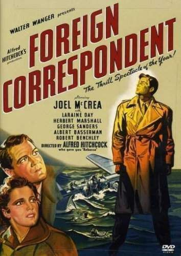 Primary image for Foreign Correspondent - DVD ( Ex Cond.)