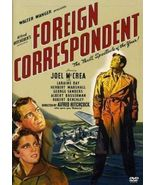 Foreign Correspondent - DVD ( Ex Cond.) - $8.80
