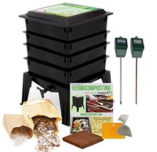 Worm Factory 360 Composting Bin   Moisture and pH Testing Meter Worm Far... - $144.45