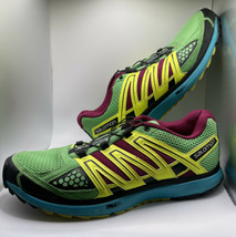 Salomon Womens FTY 171383 Multicolor Round Toe Low Top Running Shoe Size US 9.5 - $38.00