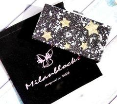 Black Glitter Star Acrylic Clutch By Milanblocks - $331.88 CAD