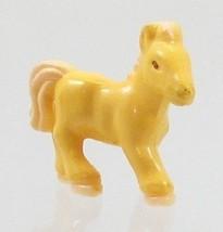 1995 Vintage Polly Pocket Dolls Pony Sisters - Cream (horse) Bluebird Toys - $7.50