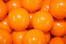 Gumballs Orange 25mm Or 1 Inch (57 Count), 1LB - $13.50