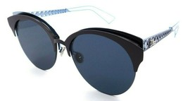 Christian Dior Sunglasses Diorama Club FHTA9 55-18-150 Matte Violet Blue / Blue - $235.20