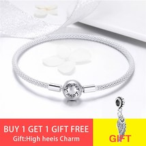 100% 925 Sterling Silver Forever Love Letter fit Pandora Charm Bracelet Jewelry  - $46.77