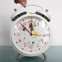 ALARM Mantel Clock HUGE DOUBLE Large Bells! Mid Century Vintage Special!... - £131.01 GBP