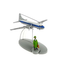 Tintin in the Calculus Affair Sabena Airlines Airplane