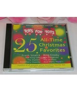 Toys for Tots 25 Tracks Gently Used CD Christmas Music Sinatra Crosby El... - $12.99