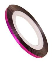 20 Rolls 2mm DIY Striping Tape Line Nail Art Decoration Sticker, Rose Red image 1