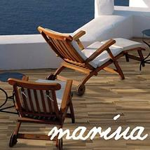 6x24 Marina Walnut Porcelain Plank Wood Look Field Tile Floor Sold by Piece image 3