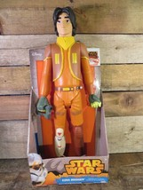 "STAR WARS Rebels EZRA BRIDGER 18"" Toy Action Figure Disney - $9.89"