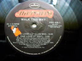 Walk This Way - One Love - Mercury PRO-608-1 - $3.00