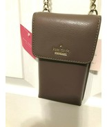 Kate Spade Larchmont Avenue N/S Smart Phone Wallet Crossbody Pebbled Lea... - $51.47