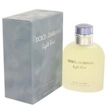 Dolce & Gabbana Light Blue Cologne 4.2 Oz Eau De Toilette Spray image 1