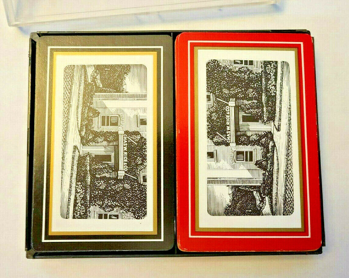 Chas W. Rice & Co. Double Deck Playing Cards Brown & Bigelow St. Paul Minn.