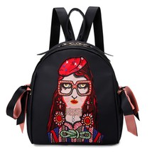 Women Backpack High Quality Oxford Fashion Girl With Bow Cartoon Student... - $27.99