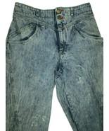 Vtg Liz Claiborne LizWear Womens Mom Jeans Sz 12 L High Waist Acid Wash Tapered - $32.45