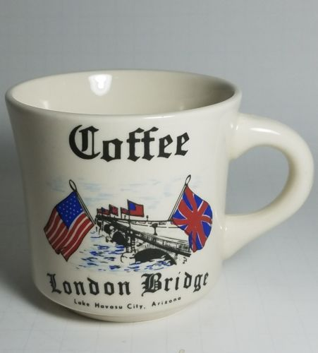 Coffee Tea Cup Mug London Bridge Lake Havasu City AZ - Made in England