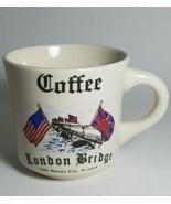 Coffee Tea Cup Mug London Bridge Lake Havasu City AZ - Made in England - $2.93