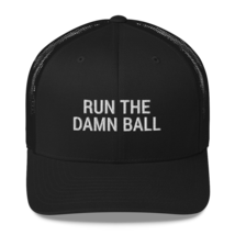 Run the Damn Ball / run the Damn Ball / Trucker Cap image 1