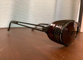 Jean Paul Gaultier Sunglasses White Red Vintage Good Condition Used - $338.57