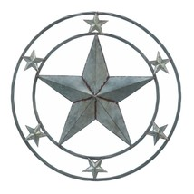 For Wall Decor, Modern Metal Galvanized Star Decorative Wall Decorations - $41.99