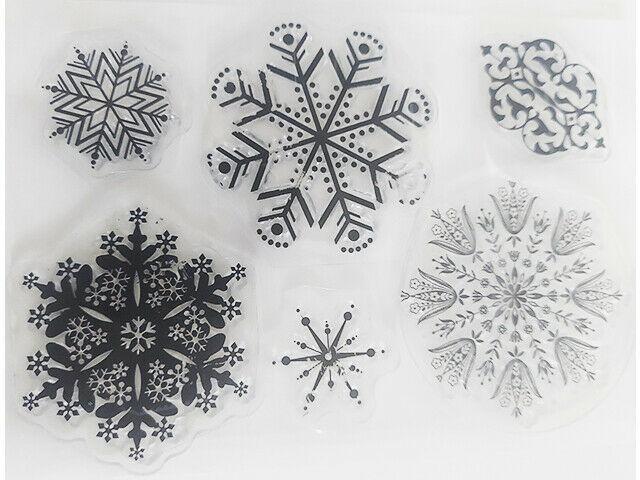 Elegant Snowflakes Stamp Set