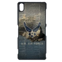 Air Force Sony Z4 case Customized premium plastic phone case, design #1 - $12.86
