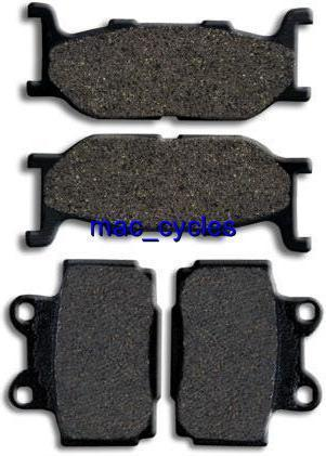 Yamaha Disc Brake Pads XJ600 XJ600N XJ600S 1991-1997 Front & Rear (2 sets)