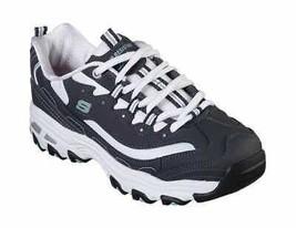 Women's Skechers Work Relaxed Fit D'Lites SR Health Care Pro Shoe Navy/W... - $103.20