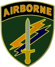 US Army Civil Affairs Combat Service Badge  (2 inch) - $14.84