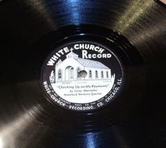 White Church Record # 1099 AA-191720H Vintage Collectible image 1