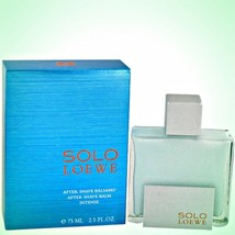 Solo Intense After Shave Balm 2.5 oz by Loewe *New In Box* - $36.63