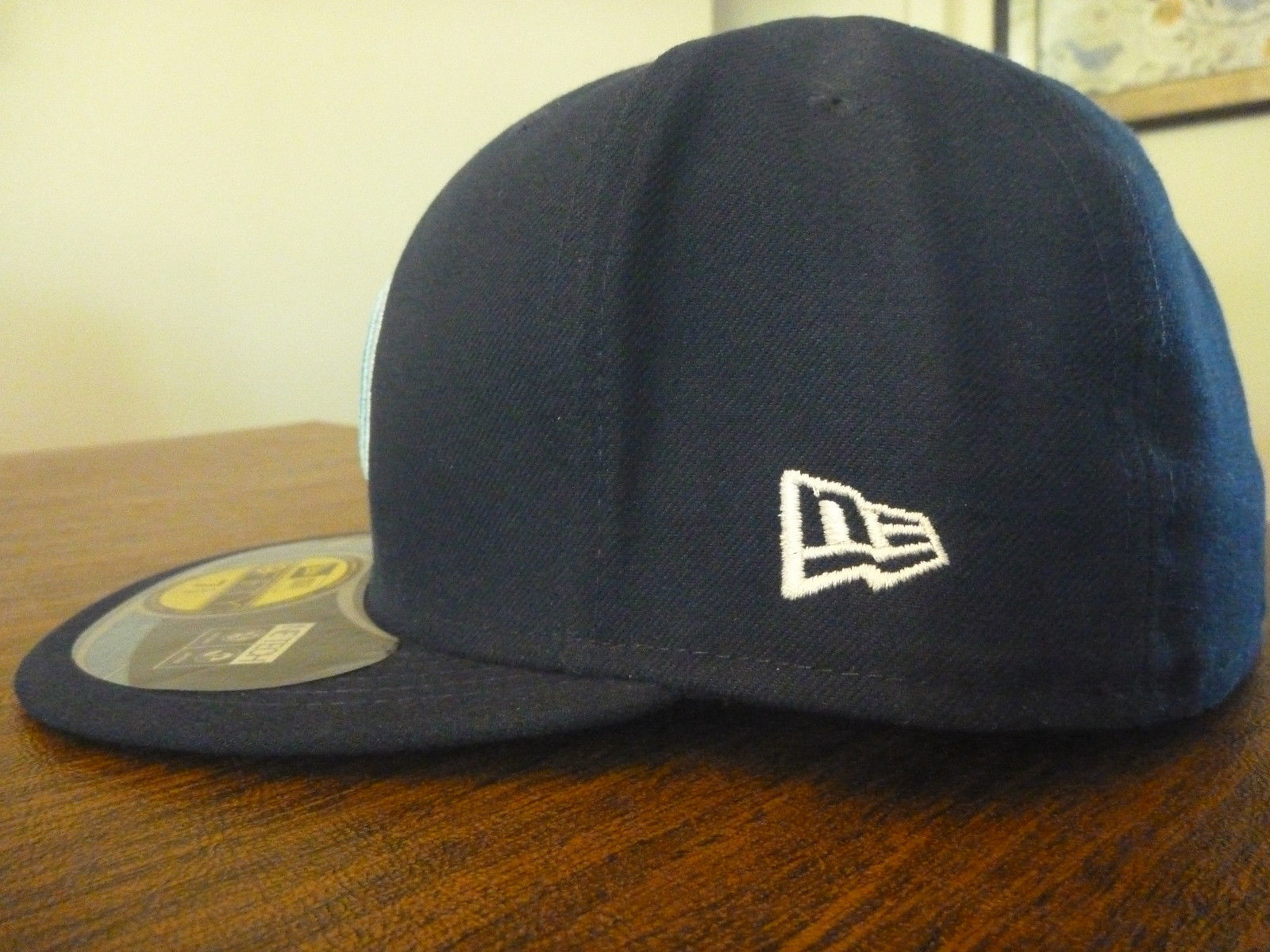 6760dd49cfb TENNESSEE TITANS NEW ERA 59FIFTY NFL ON FIELD SIDELINE BLUE FITTED HAT Sz 7  3