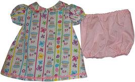 Preemie & Newborn Pounds Girls Easter Basket Dress and Panties - $26.00