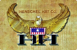 Henschel Suede Safari Hat Leather Band Fully Lined Made In USA Black Brown image 4