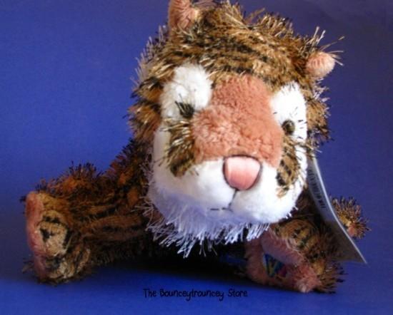 Webkinz Tiger LARGE Interactive Pet Unused Secret Code