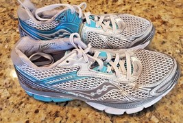 Saucony Hurricane 14 Women's Running Walking Sport Athletic Shoes Size 7.5 Blue - $24.99