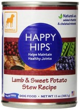 Dogswell Happy Hips Wet Dog Food with Glucosamine & Chondroitin, Adult Formula,