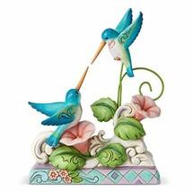Enesco Jim Shore Heartwood Creek Hummingbirds on Floral Vine Figurine, 6... - $44.16