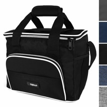 OPUX Insulated Collapsible Soft Cooler 9 Quart   Lunch Bag for Men, Smal... - $17.30