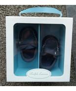 Ralph Lauren Layette Captain EZ Crib Shoe (Infant/Toddler) Dark Blue NEW - $35.15