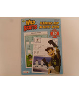 PBS Kids Wild Kratts Learning Add Subtract ect  Ages 3-5 Activity Book B... - $2.95